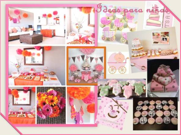ideas baby shower niñas