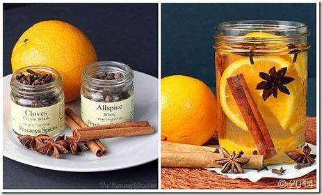 bote fragancia naranja