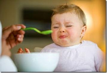 bebé no come